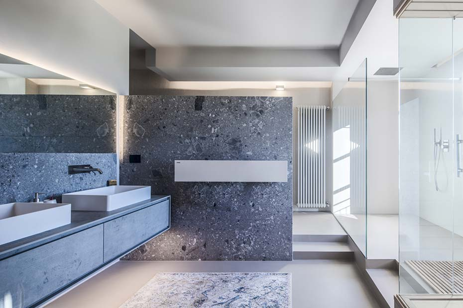 bagno in marmo