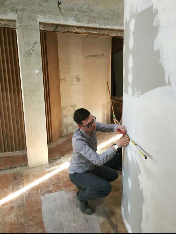 christian tezza in cantiere