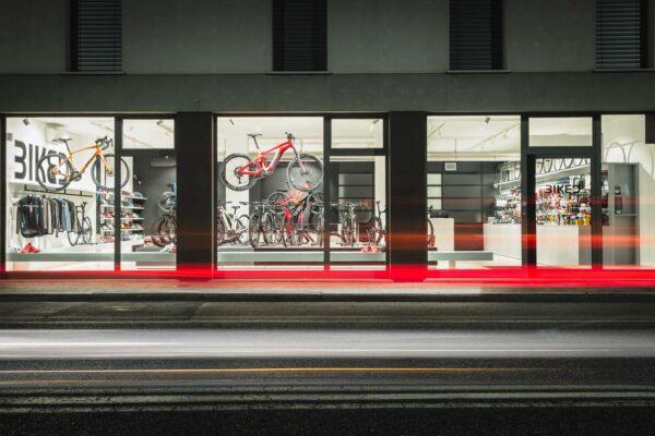 negozio di biciclette