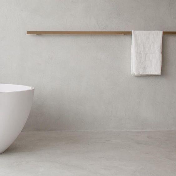 alternative al bagno senza piastrelle