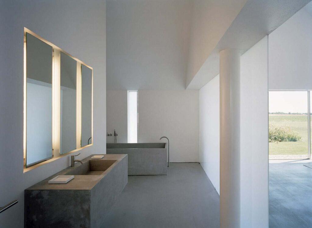 come realizzare un bagno senza piastrelle