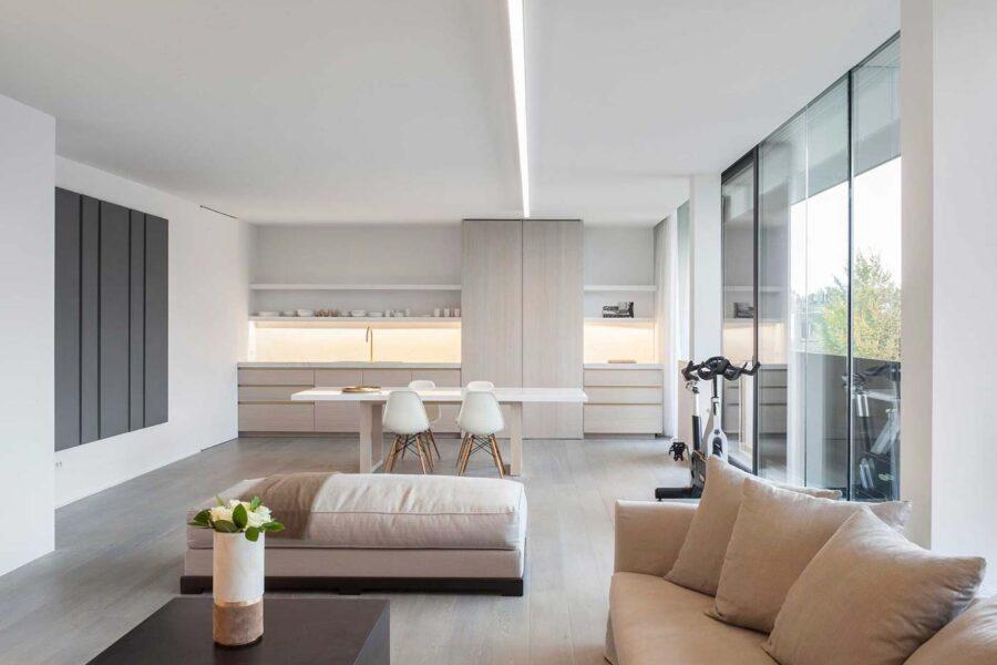 arredare cucina e soggiorno in un ambiente unico