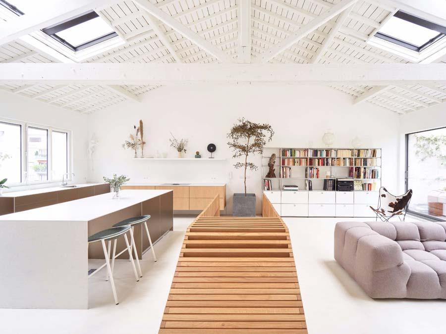 Come arredare cucina e soggiorno in un ambiente unico?
