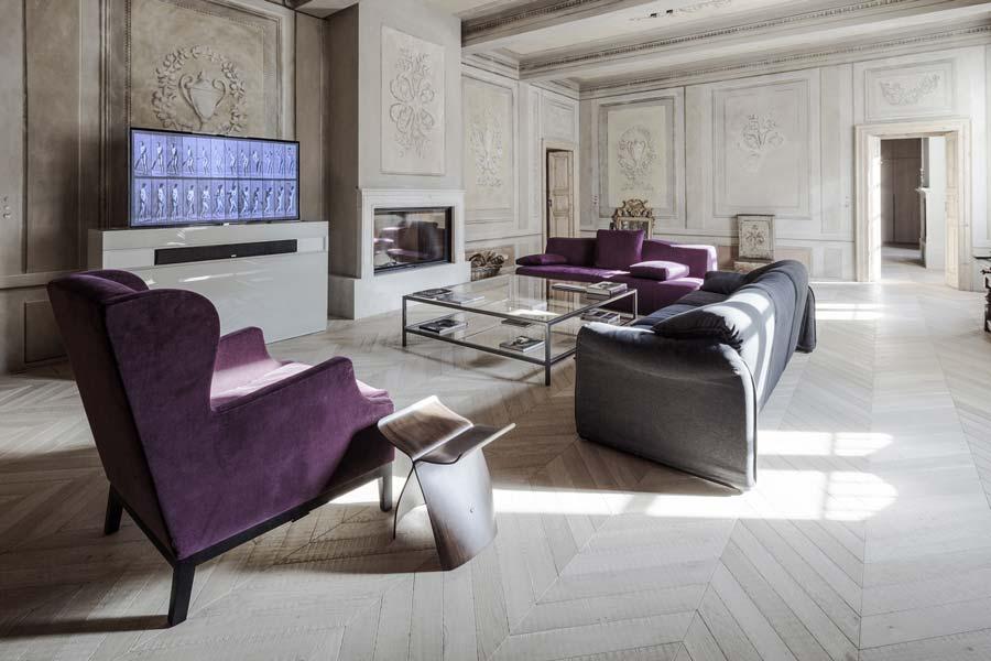 arredare un moderno soggiorno