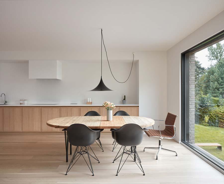 Cucina in legno moderne