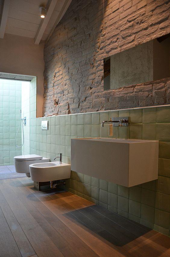Illuminazione del bagno moderno