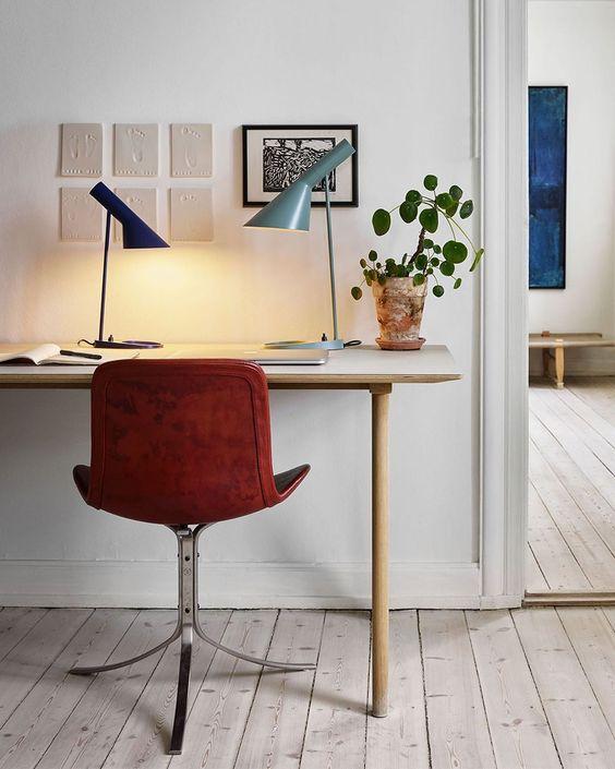 illuminazione dello studio a casa