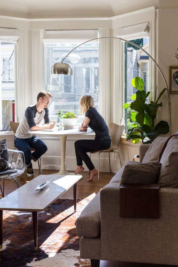 Tavolo per un soggiorno piccolo