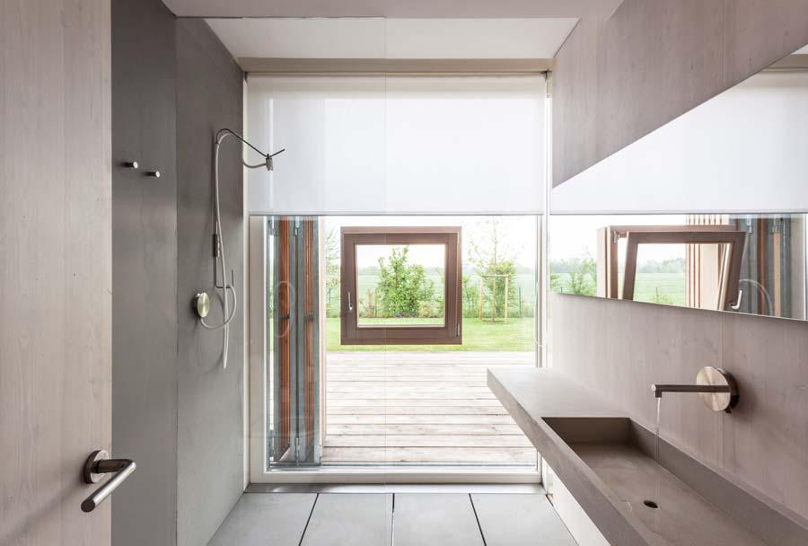 Tende moderne per il bagno