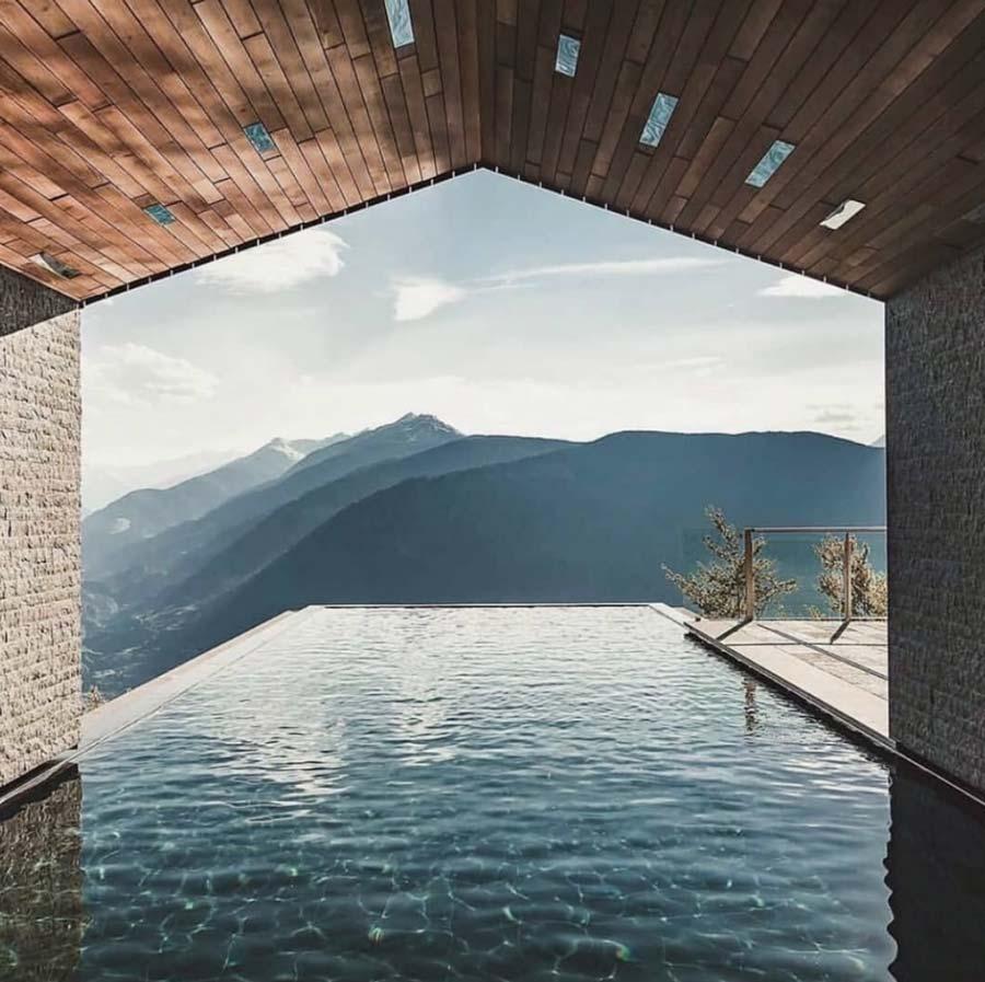 piscina da terrazzo