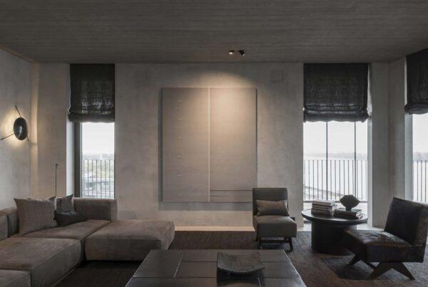 illuminazione soggiorno moderna
