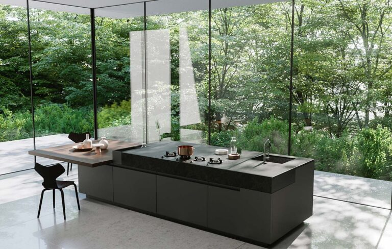 Dedicato a chi desidera una cucina moderna con isola