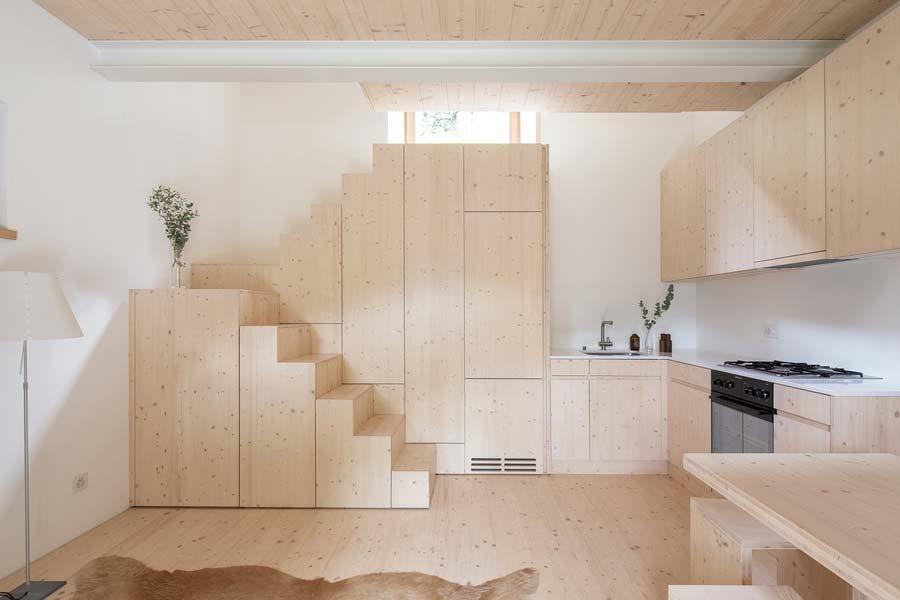 scale in legno contenitive