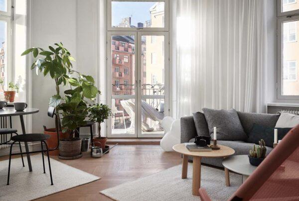Tende moderne per il soggiorno