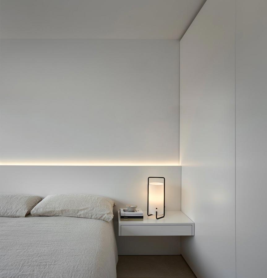 Illuminazione di una camera da letto