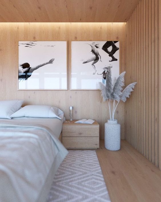 Illuminazione camere letto