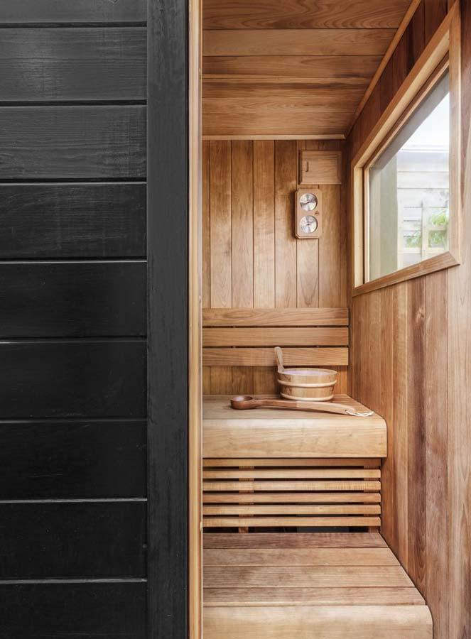 Sauna per la casa