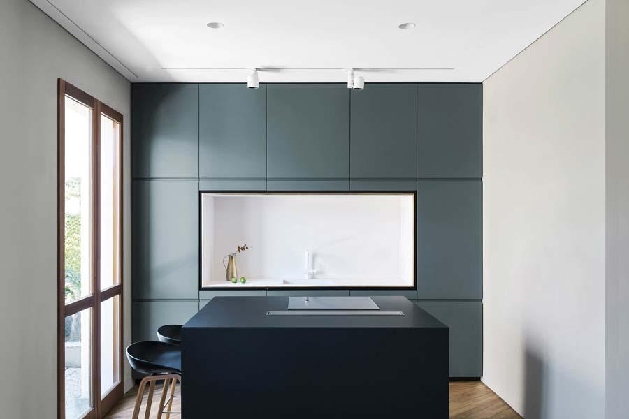 Cucina piccola moderna