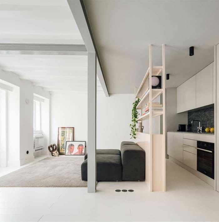 Come dividere soggiorno e cucina