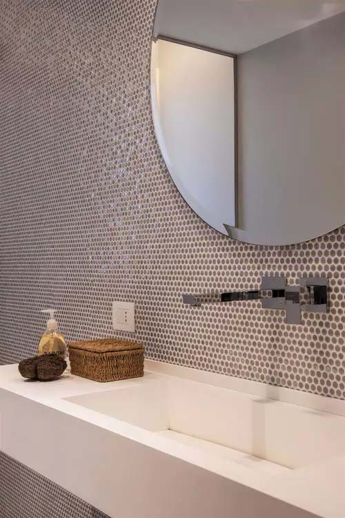 Bagni con il mosaico