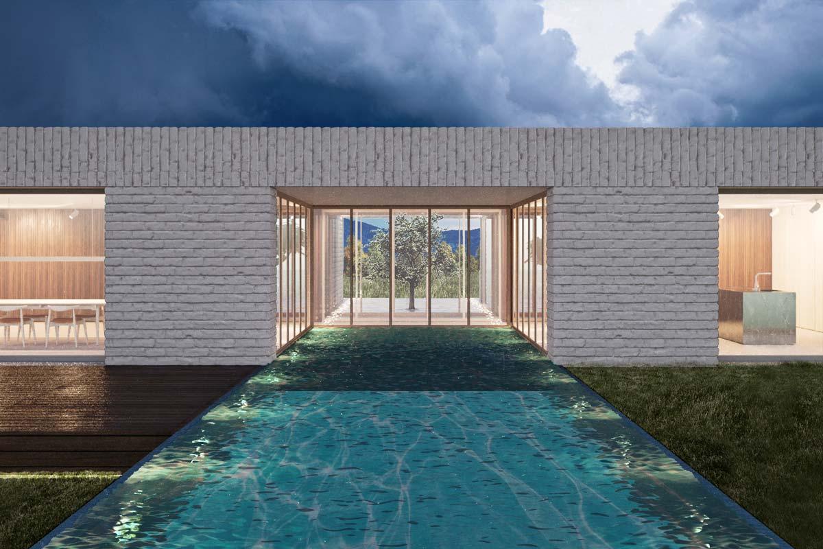 villa di lusso trento studio di architettura 2